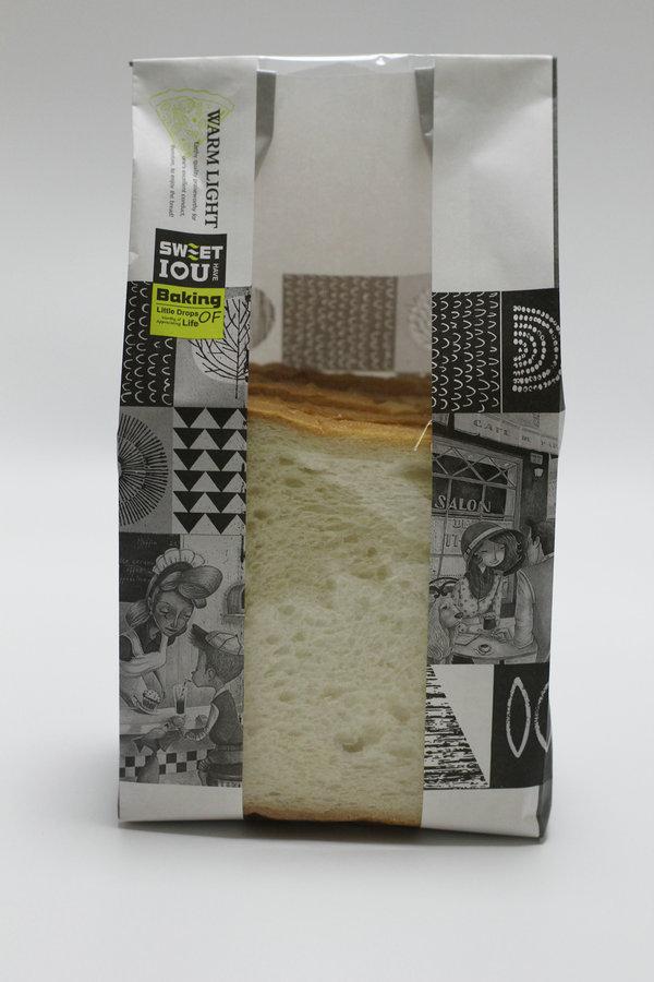 4片吐司面包袋